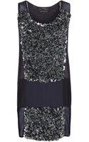 AllSaints Graffiti Dress - Lyst