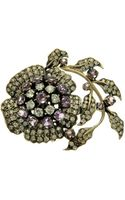 L'inde Le Palais Small Flower Brooch - Lyst