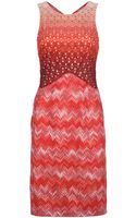Missoni Multi Pattern Sleeveless Dress - Lyst