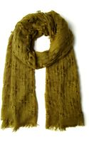 ModCloth Olive Grove Scarf - Lyst