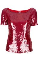 P.a.r.o.s.h. Sequin Blouse - Lyst
