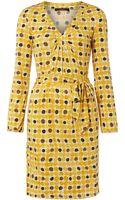 Weekend By Maxmara Calcina 34 Sleeve Tie Waist Print Dress - Lyst
