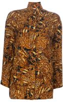 Gianfranco Ferre Vintage Print Shirt - Lyst