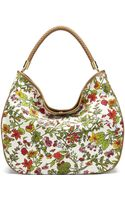 C. Wonder Floral Printed Canvas Hobo Bag - Lyst