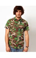 Ralph Lauren  Shirt with Camo Pattern - Lyst