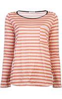 Giada Forte Long Sleeve Pocket Shirt - Lyst