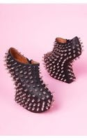 Jeffrey Campbell Shadow Stud Bootie - Lyst