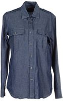 Mario Matteo Denim Shirts - Lyst