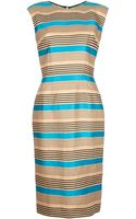 Dolce & Gabbana Striped Dress - Lyst