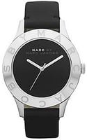 Marc By Marc Jacobs Ladies Blade Black Leather Watch - Lyst