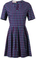 Marni Geometric Printed Cotton Dress - Lyst