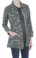 Monrow Military Trench - Lyst