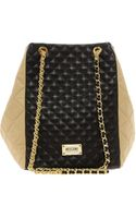 Moschino Cheap & Chic Linea Quilted Shopper - Lyst