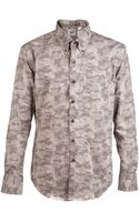 Naked And Famous Camo Slim Shirt - Lyst