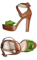 Alexandra Platform Sandals - Lyst