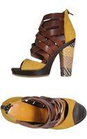 History Platform Sandals - Lyst