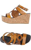 Mare Wedges - Lyst