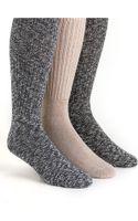 Calvin Klein Threepack Socks - Lyst
