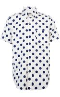 Mark Mcnairy Big Dot Shirt - Lyst