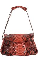 Zagliani Python Small Sally Bag - Lyst