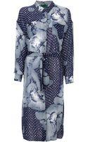 Jean Paul Gaultier Cupid Print Dress - Lyst