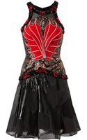 Rodarte Medieval Fantasy Embellished Bodice Dress - Lyst