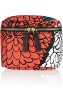 Marni Floral Print Cotton Canvas Cosmetics Case - Lyst
