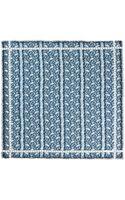 Vassilisa Blue Lace Print Scarf - Lyst