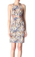 Stella McCartney Abstract Print Dress - Lyst