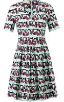 Marni Printed Cotton Dress - Lyst