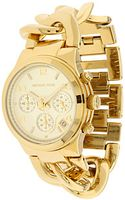 Michael Kors Golden Watch - Lyst