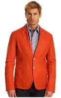 Just Cavalli Cotton Linen Blazer - Lyst