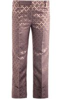 Elizabeth And James Carson Tilejacquard Trousers - Lyst
