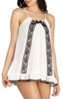 ModCloth Here and Air Nightgown and Undies Set - Lyst