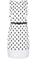 Giambattista Valli Dotted Print Dress - Lyst