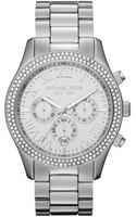 Michael Kors Midsize Layton Chronograph Glitz Watch - Lyst