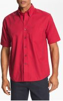 Cutter & Buck Nailshead Regular Fit Epic Easy Care Sport Shirt Big Tall - Lyst
