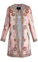 Isabel Marant Juliana Embellished Coat - Lyst