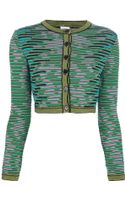 M Missoni Button Fastening Cardigan - Lyst