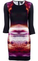 McQ by Alexander McQueen Storm Print Dress - Lyst