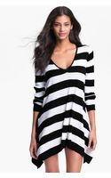 Tommy Bahama Stripe Sweater Coverup - Lyst
