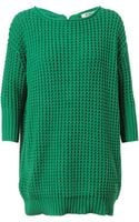 Acne Studios Shore Cotton Fisherman Knit - Lyst
