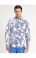 Robert Graham Sveti Printed Cotton Shirt - Lyst