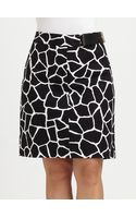 MICHAEL Michael Kors Printed Pencil Skirt - Lyst