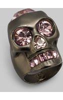 Alexander McQueen Heart Skull Ring - Lyst