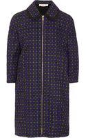 Marni Woven Tweed Duster Coat - Lyst