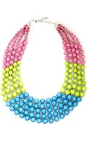 ModCloth Bead Keeper Necklace in Tropical - Lyst
