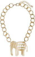 Topshop Elephant Collar - Lyst