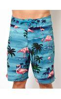 Vans Flamingo Boardshorts - Lyst