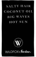Wildfox Salty Hair Beach Towel - Lyst